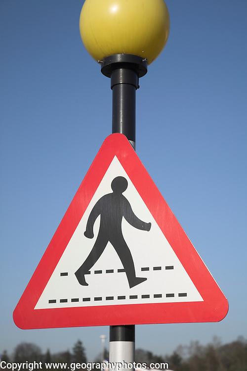 Pedestrian crossing belisha beacon