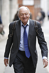 © Licensed to London News Pictures. 30/03/2017. London, UK. Former Mayor of London Ken Livingstone arrives at Church House for a Labour Party disciplinary hearing hearing. Mr Livingstone has been accused of anti-Semitism after comments he made in April 2016 claiming that Hitler supported Zionism in the 1930's. Photo credit: Peter Macdiarmid/LNP
