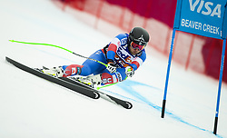 December 1, 2017 - Beaver Creek, Colorado. U.S. - ANDREW WEIBRECHT OF the United States was the top USA finisher at 21st place in the Men's Super-G of the 2017 Audi FIS Birds of Prey World Cup. (Credit Image: © Erich Schlegel via ZUMA Wire)