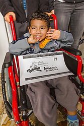 South America, Peru, Lima, Lima Children's Hospital, Princeton University Wheelchair Foundation distribution 2012