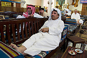 "People throughout the Arab world show great interest in what the US calls ""Operation Iraqi Freedom"". In the old souk in downtown Kuwait City, men spent the afternoon hours of the first days of the war in a tea room, watching Al Jazeera Network on television, reading papers, drinking tea, and smoking tobacco.."