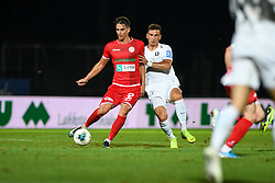 Ante Zivkovic of Aluminij during football match between NK Aluminij and NK Olimpija in 6st Round of Prva liga Telekom Slovenije 2019/20, on August 18, 2019 in Sportni park NK Aluminij, Kidricevo, Slovenia. Photo by Milos Vujinovic / Sportida