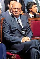 Roma  1985.Bettino Craxi.  Presidente del Consiglio (Prime Minister).(1934-2000).