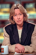 Presidential biographer Doris Kearns Goodwin comments on President Clinton's legacy during NBC's Meet the Press March 8, 1998 in Washington, DC.