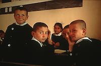 first graders in Goreme, Anatolia, Turkey