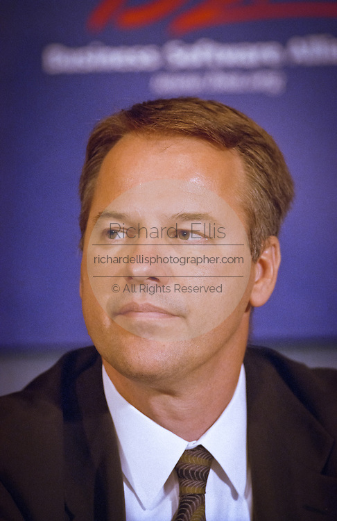 Jeremy Jaech, President and CEO of Visio Corporation attends a press conference by the Business Software Alliance June 16, 1999 in Washington, DC.