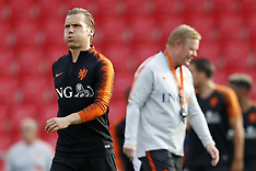 Netherlands Training - 30 May 2018