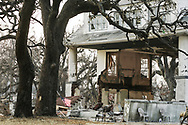 Katrina storm aftermath : Coastal city of Biloxi in Mississippi was heavily damaged by storm surge and high winds. Biloxi, Mississippi. 04 September 2005.