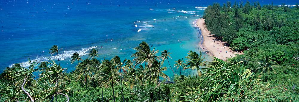 Ke'e Beach, Kauai, Hawaii, USA<br />