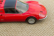Ferrari Dino GTS right hand drive chairs and flares.<br />
