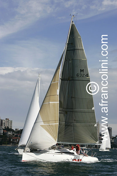 SAILING - BMW Winter Series 2005 - MIDNIGHT OIL - Sydney (AUS) - 01/05/05 - ph. Andrea Francolini