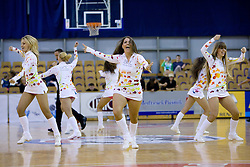 Dragon Ladies dance at third finals basketball match of Slovenian Men UPC League between KK Union Olimpija and KK Helios Domzale, on June 2, 2009, in Arena Tivoli, Ljubljana, Slovenia. Union Olimpija won 69:58 and became Slovenian National Champion for the season 2008/2009. (Photo by Vid Ponikvar / Sportida)