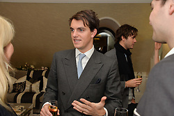 First look of the new Samsung Curved UHD TV at the Candy & Candy penthouse at No. 1 Arlington Street, London - an exclusive Samsung BlueHouse event held on 27th February 2014.<br /> Picture shows:- VISCOUNT ERLEIGH.