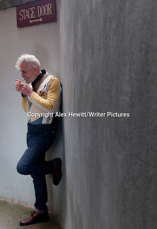 John Byrne, Scottish playwright, actor and polymath photographed at the unveiling of his mural on the ceiling of the Kings Theatre in Edinburgh, Scotland. 8th June 2013<br /> <br /> Picture by Alex Hewitt/Writer Pictures<br /> <br /> World Rights