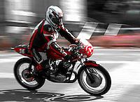 29-09-2013 Santander<br /> IV Gran Carrera Motos Clasicas en el Palacio de la Magdalena<br /> Champi Aneiros Casas, con la moto Montesa GP 250<br /> Fotos: Juan Manuel Serrano Arce