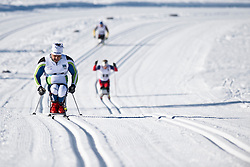 ROCHA Fernando, BRA, Middle Distance Cross Country, 2015 IPC Nordic and Biathlon World Cup Finals, Surnadal, Norway