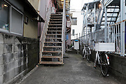 old residential housing Japan Yokosuka