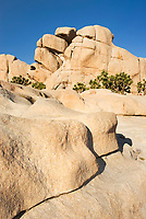 Granite rock of Joshua Tree National Park California