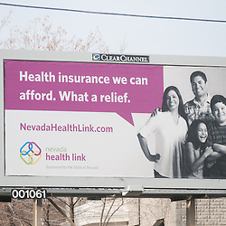 Nevada Health Link Billboard for KPS3
