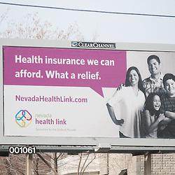 Nevada Health Link Billboard for KPS3