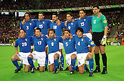 ITALY TEAM GROUP.ITALY V BELGIUM 14/06/00 (2-0) BRUSSELS.PHOTO ROBIN PARKER.