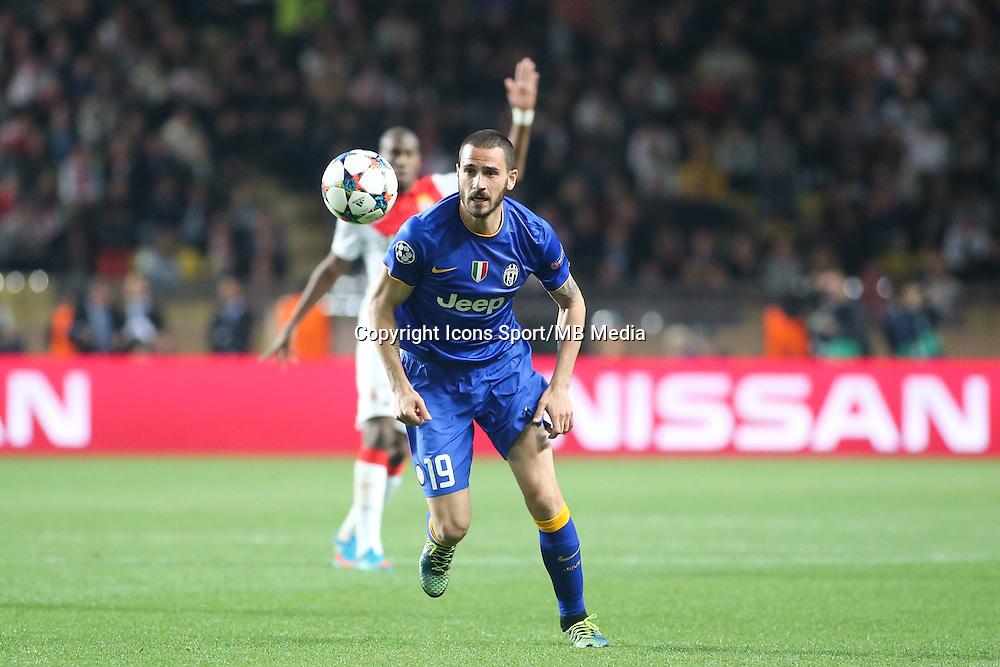 Leonardo BONUCCI  - 22.04.2015 - Monaco / Juventus Turin - 1/4Finale retour Champions League<br />Photo : Serge Haouzi / Icon Sport
