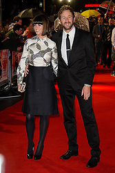 Dawn Porter and Chris O'Dowd attend The World Premiere of \'Cuban Fury\'. Leicester Square, London, United Kingdom. Thursday, 6th February 2014. Picture by Chris Joseph / i-Images