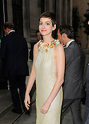 18.JULY.2012. LONDON<br /> <br /> ANNE HATHAWAY ARRIVING AT THE AFTER PARTY FOR NEW BATMAN FILM 'THE DARK KNIGHT' AT THE FREEMASON'S HALL IN COVENT GARDEN IN HER PREMIERE DRESS BEFORE CHANGING INSIDE AND LEAVING IN A PARTY DRESS.<br /> <br /> BYLINE: EDBIMAGEARCHIVE.CO.UK<br /> <br /> *THIS IMAGE IS STRICTLY FOR UK NEWSPAPERS AND MAGAZINES ONLY*<br /> *FOR WORLD WIDE SALES AND WEB USE PLEASE CONTACT EDBIMAGEARCHIVE - 0208 954 5968*