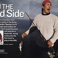 Sports Illustrated story on Jordin Tootoo.