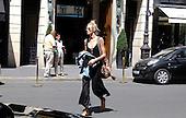Model ANJA RUBIK THE STREETS OF PARIS