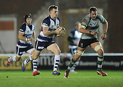 Bristol Rugby's Dwayne Peel  - Photo mandatory by-line: Joe Meredith /JMP - Mobile: 07966 386802 - 06/03/2015 - SPORT - Rugby - Bristol - Ashton Gate - Bristol Rugby v Nottingham Rugby - Greene King IPA Championship