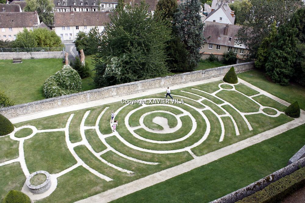 Labyrinthe à Chartres.