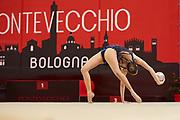 Elena Varallo della società Ginnastica Moderna Legnano durante la tappa di Bologna del campionato Italiano di Ginnastica Ritmica 2019.