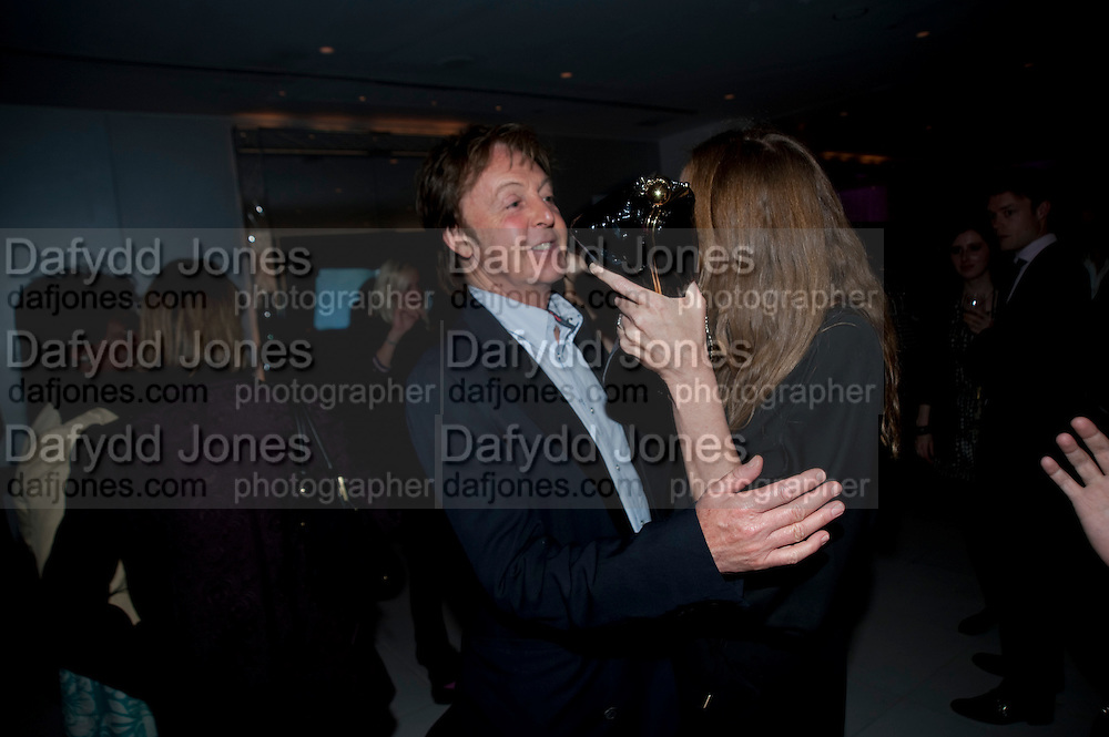 PAUL MCCARTNEY; STELLA MCCARTNEY, Told, The Art of Story by Simon Aboud. Published by Booth-Clibborn editions. Book launch party, <br /> St Martins Lane Hotel, 45 St Martins Lane, London WC2. 8 June 2009