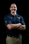 DALLAS, TX - JULY 22:  West Virginia punter Nick O'Toole poses for a portrait during the Big 12 Media Day on July 22, 2014 at the Omni Hotel in Dallas, Texas.  (Photo by Cooper Neill/Getty Images) *** Local Caption *** Nick O'Toole