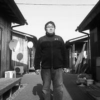 February,27.2016 Iwaki,Nuclear evacuee shelter, Former subcontractor worker in Charge of nuclear waste management .was fired after the nuclear catastrophy,During Nuclear accident Tanaka native from Okuma city but leaving in mountain, two kilometers close to Fukushima nuclear plant said he return at home by walk and have no knowledges of what to do during nuclear accident, Self defence forces pick up him and evacuate him , Since he was fired by is company he spend his time at playing games in amusement center, During catastrophy, Tepco staff were evacuated with their family first, and subcontractors didnt know what to do in this case.,Pierre Boutier