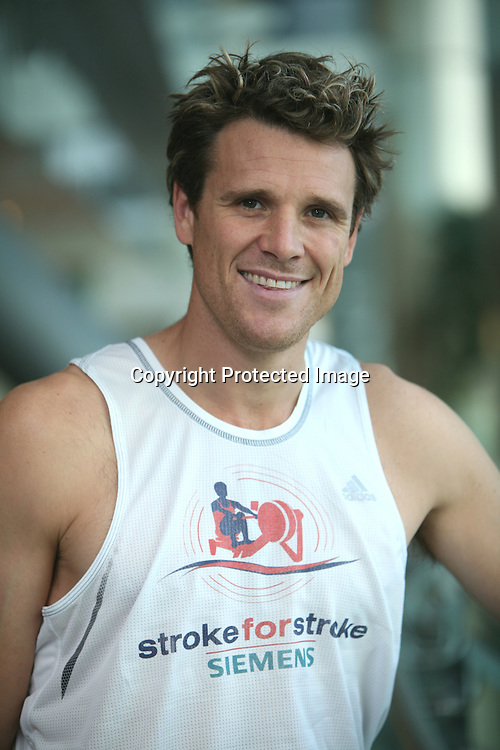 James Cracknell, double Olympic gold medalist.
