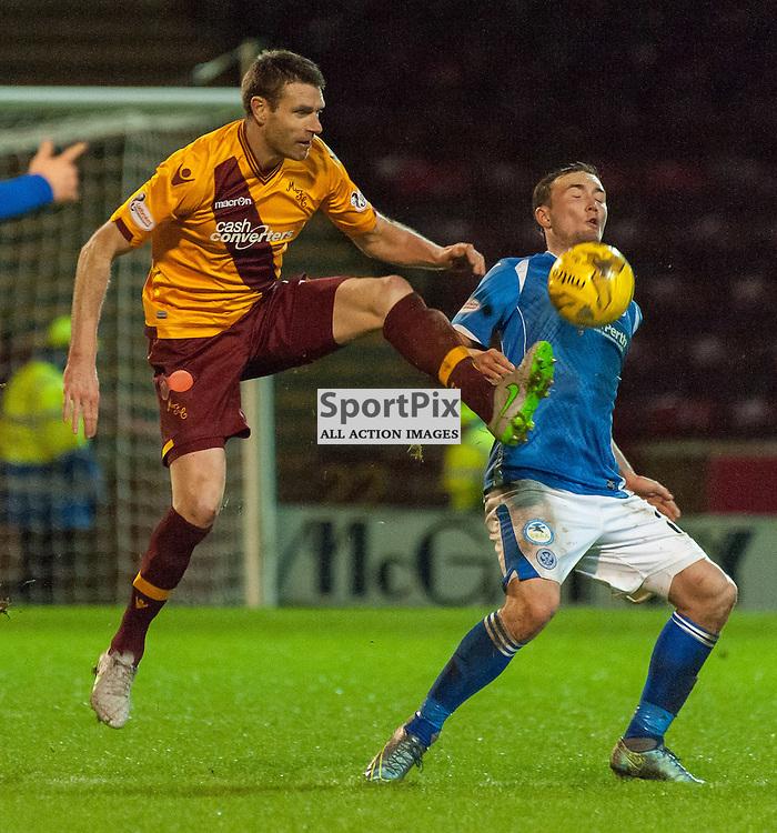#6 Stephen McManus (Motherwell) • Motherwell v St Johnstone • SPFL Premiership • 30 December 2015 • © Russel Hutcheson | SportPix.org.uk