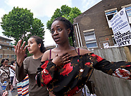 Grenfell Tower tears and anger