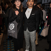 Danny Wynter Arriver at the Quiz press night at Noel Coward Theatre, London, UK