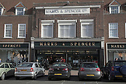 Marks and Spencer department store, Bury St Edmunds, Suffolk, England