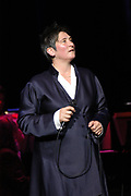 K. D. Lang live in Concert at Vredeburg in Utrecht , The Netherelands.  The Canadian Singer gives a one time concert to start her tour in Europe .