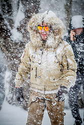 27.01.2015, Planai, Schladming, AUT, FIS Skiweltcup Alpin, Schladming, Prominenten Eisstockschießen, im Bild Uwe Kröger // Uwe Kroeger during the VIP ice stock sports of the men's slalom of Schladming FIS Ski Alpine World Cup at the Planai Course in Schladming, Austria on 2015/01/27, EXPA Pictures © 2015, PhotoCredit: EXPA/ Erwin Scheriau