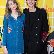 NLD/Amsterdam/20180325 - Nickelodeon Kid's Choice Awards 2018, Niek Roozen en Sterre Koning