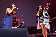 Floetry performs during Summer Spirit Festival 2015 at Merriweather Post Pavilion in Columbia, MD on Saturday, August 8, 2015.