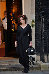 Helena Bonham Carter arrives at 10 Downing Street, London, UK, for a reception to celebrate inspirational women.<br />  Thursday, 6th March 2014. Picture by Ben Stevens / i-Images