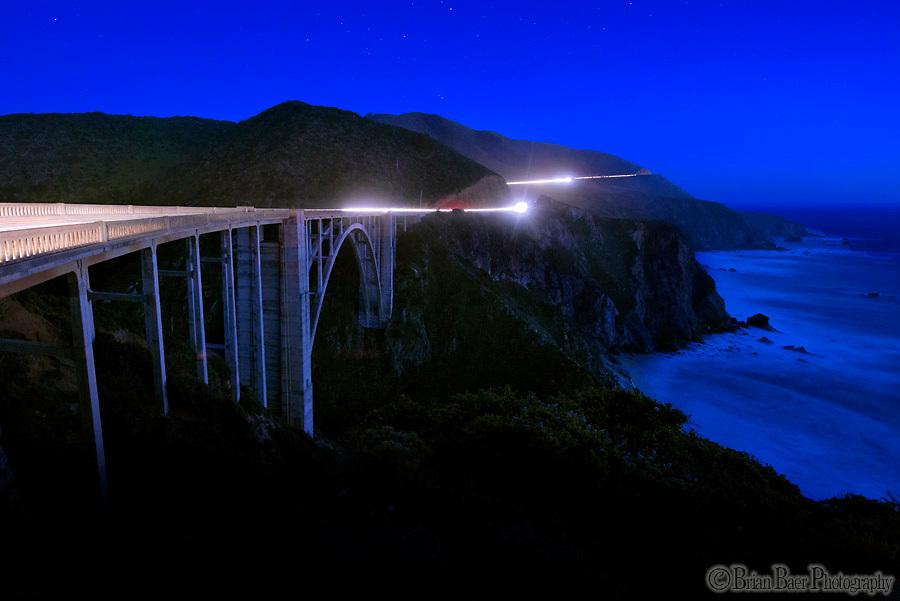Bixby Bridge in Big Sur Cal.