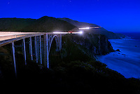 Bixby Bridge in Big Sur Cal.