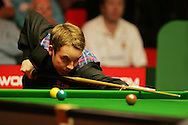 Ali Carter of England. Welsh Open Snooker at the Newport Centre, Feb 2009