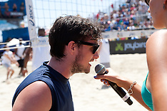 Josh Hutcherson - Celebrity volleyball match